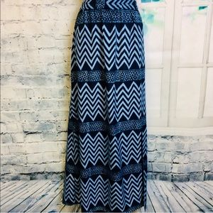 NWT | Michael Kors Blue Maxi Skirt | Sz M
